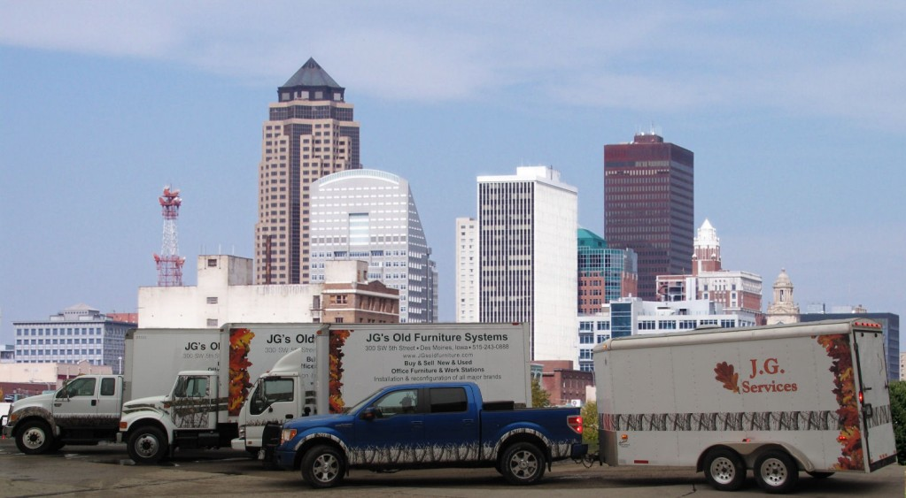 trucks 1023 563 jg s furniture systems rh jgsoldfurniture com Iowa State Iowa Map with Cities