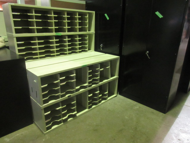 large 5 mail sorter jg 39 s old furniture systems