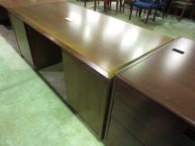 DARRAN Walnut Desk