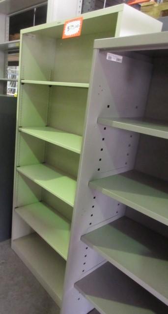 HON Metal Bookcase (Light Grey/71u2033 Tall)