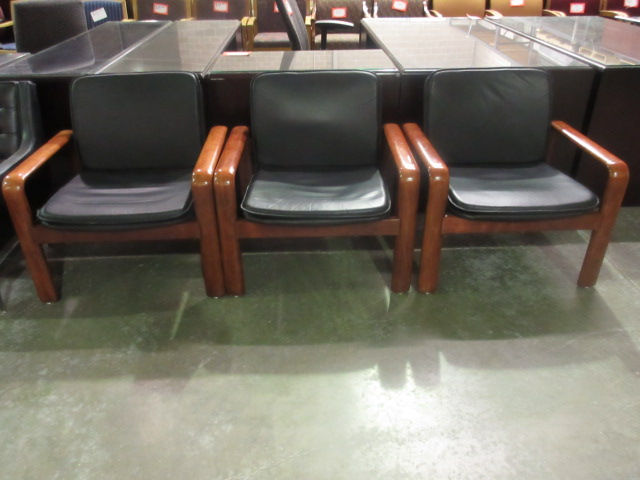 guest chairs with cherry wood veneer arms jg 39 s old furniture systems