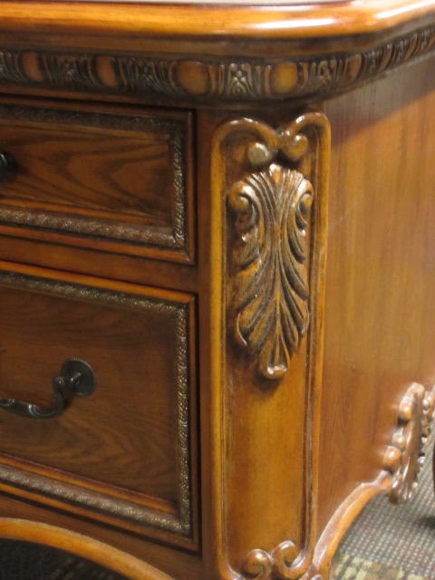 traditional wood veneer desk beautiful detail jg 39 s old