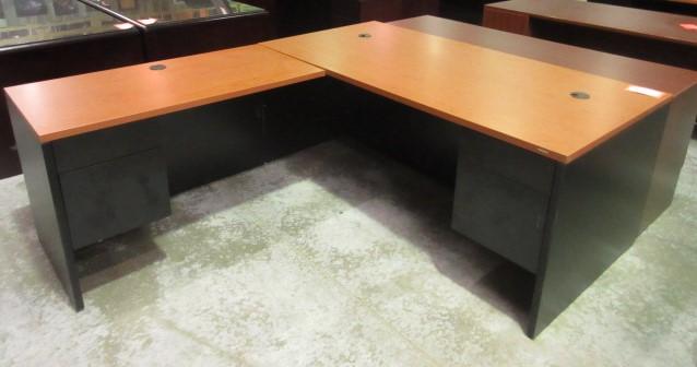 hon cherry desk return left handed jg 39 s old