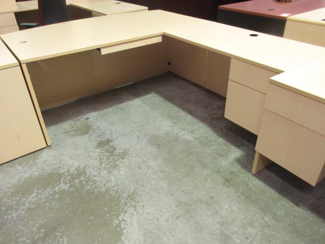 lacasse 71 bowfront desk return maple jg 39 s old
