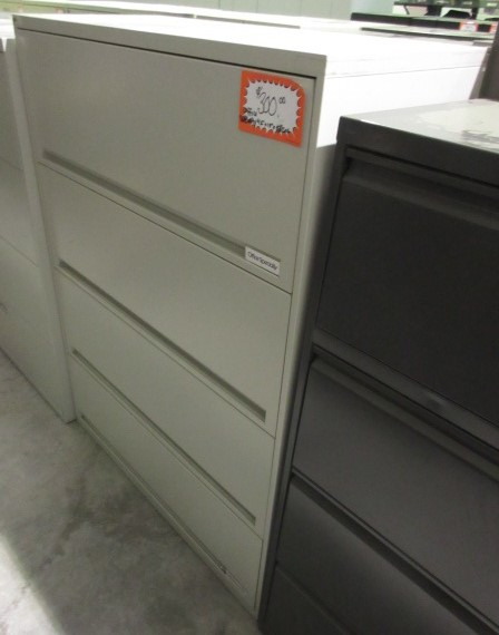office specialty 4 drawer lateral file all flipper
